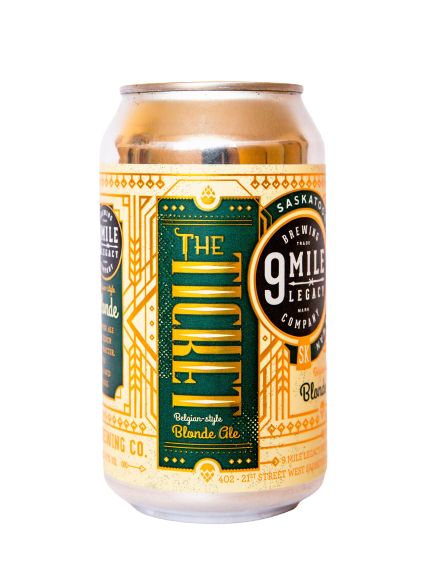 The Ticket Blonde Ale